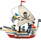 Pirates Ship Bricks Building Lego Pirates of the Caribbean Ship Compatible Toy