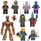 Guadians of he Galaxy Groot Minifigures Lego Marvel Super Hero Building Toy Compatible