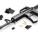 WW American Soliders M16 Assault Gun Lego Machine Gun Compatible Boys Gift Toy