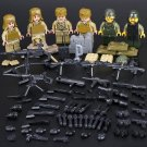 Chinese Army Soliders Lego WW2 Soliders Compatible Toy