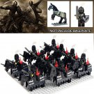 Black Royal Knights Guards Trooper Lego Medieval Knights Compaitble