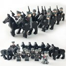 WW2 German Cavalry Army Lego Soldiers Compatible Toy