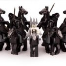 Nine Black Rider Trooper Lego Lord of the Rings Minifigures Compatible
