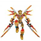 Hero Factory Ikir Creature of Fire Figure Lego Bionicle Compatible Toy