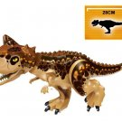 Custom Carnotaurus Figure Lego Jurassic World Dinosaur Compatible Toy