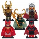 Lady Loki Lady Thor Heimdall Scarlet Witch Marvel Lego Minifigures Fit Toy