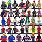 Super Heroes Minifigures Lego Marvel DC Universe Compatible Toys
