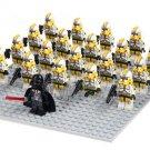 Custom Star Wars Utapau Trooper Minifigures Lego Clone Trooper Compatible Sets