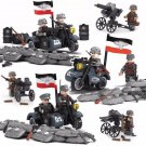 WW2 German Soldiers Motor Infantry Trooper Lego Soldiers Compatible Military Sets