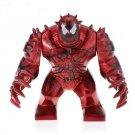 Custom Marvel Universe Carnage Super Hero Big Figure Compatible Lego