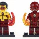Custom DC Flash Minifigures Compatible Lego DC Super Hero