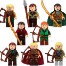Elrond Elf Witch King Battle Tauriel The Hobbit Minifigures Lego Compatible Toys