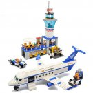 American City Airport Terminal Control Tower Passenger Airplane Lego Compatible Toy