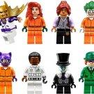 Batman Movie Civillian Joker Poison Ivy Cat Woman Penguin Man Minifigures Lego Compatible