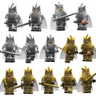 Lego Toy Military Minifigures Compatible 4pcs Game of Thrones Lannister