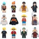 12pcs Luffy Sanji Franky Nami Zoro Lego One Piece Compatible