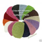 Kufi Caps, Hand Chrocheted Hats - Choose from 14 colors