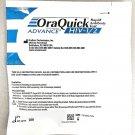 2 PACK Orasure OraQuick HIV-1 & HIV-2 Home Test Kit Aids Hiv Home test kit