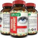 Lutein Vision Supplement Vitamin A Beta Carotene Zinc for Eye Health 60ct
