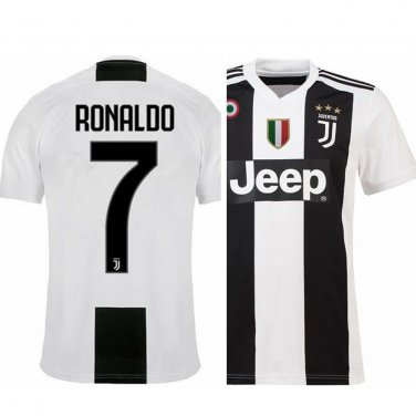 promo code e9ee0 c5d3d Cristiano Ronaldo Juventus home jersey New 2018-2019 Best Price soccer 1819  2018-19 camiseta CR7