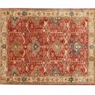 NEW Channing Rust POTTERY BARN Persian Hand Tufted 5X8 Modern Design Wool Carpet Rug