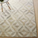 New Brand Marquis Natural 5x8 Contemporary Style Handmade Wool Rug & Carpe