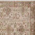 New PB Channing Neutral 5X8 Persian Style Handmade Wool Rug & Carpet