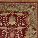 New PB Franklin Red 9X12 Persian Style Handmade Wool Rug & Carpet