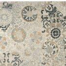 New PB Talia Gray Hand Tufted 9X12 Persian Design Wool Area Rug