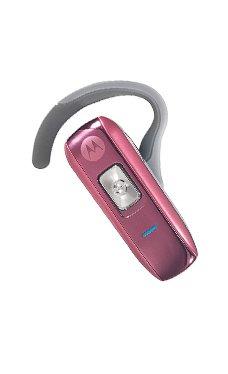 Motorola Pink H550 Bluetooth Headset
