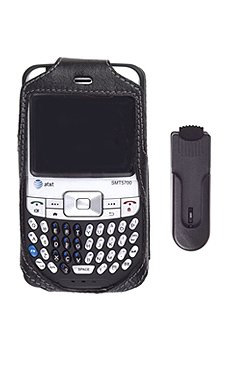 AT&T 5700 Black Fitted Leather Case