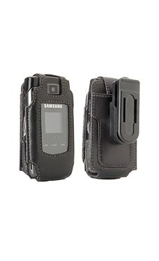 Samsung Sync Black Fitted Leather Case
