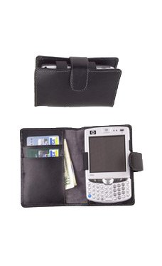 HP6510/6515 Horizontal Leather case with belt clip
