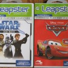 Leapster 2 Games Lightning McQueen & Star Wars !!!
