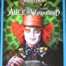 Alice In Wonderland Blu-ray/DVD with SLIPCOVER  !!!