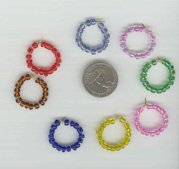 8 Beaded Wine Charm Charms Markers