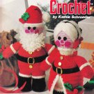 American School Of Needlework Christmas Crochet Bkt 3 Vol. 1 Mr and Mrs.S. Claus