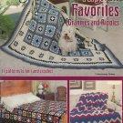 American School Of Needlework Book 1014 Afghan Favorites Grannies and Ripples