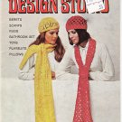 American Thread Aunt Lydia's Design Studio Star Book No.229 Knit and Crochet