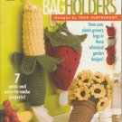 Annie's Attic Crochet Garden Fresh Bag Holders Designs by Tara Surprenant #1349