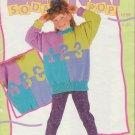 Bernat Soda Pop Knitting Pattern #1259