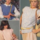Bernat 1985 Handicrafter No. 578 Bernat's Year Of Fashion Knitting Pattern