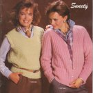 Bernat 1984 Handicrafter Vintage Knitting Pattern Booklet No. 544 Sweety