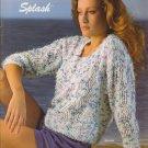 Bernat 1986 Handicrafter No. 594 Splash Knitting Pattern Booklet