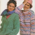 Bernat 1986 Knitting Pattern Booklet Handicrafter No.581 Venetian