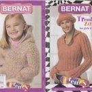 Bernat Trend Zone for girls & Teens Knitting Crochet Pattern Booklet #542005