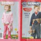 Bernat 2007 Pattern Booklet Tops N Toys #542030