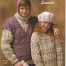 Bernat 1986 Knitting Pattern Booklet Handicrafter No.584 Scandia