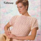 Bernat 1985 Handicrafter No.553 Knitting Pattern Killarney - sweater patterns