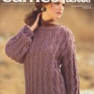 Bernat Cameo Handicrafter Leaflet No.661 1988 Knitting Pattern - Sweater Pattern